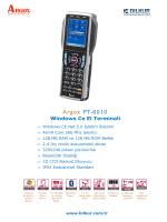 Argox PT-6010 Teknik Özellikler