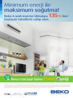 Minimum enerji ile maksimum soğutma!