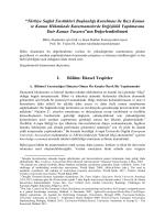 raporu - Bilim Akademisi