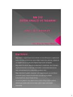 Ders-3 Bilgi Sistemleri