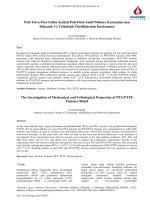 α-Si3N4-β SiAlON Seramiklerinin Kesici Takım