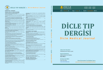 Cover File - Dicle Tıp Dergisi
