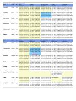 Schedule - Week 49