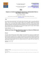 İndir - Gıda Teknolojileri Elektronik Dergisi