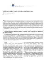 Emrah BOYLU - KMÜ Sosyal ve Ekonomik Araştırmalar Dergisi