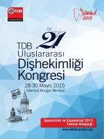İstanbul Kongre Merkezi - 21. Uluslararası Dişhekimliği Kongresi