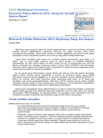 OECD Multilingual Summaries Economic Policy Reforms 2014