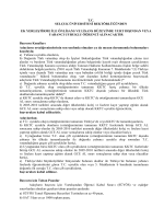 tc selçuk üniversitesi rektörlüğünden ek yerleştirme ile önlisans ve