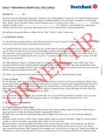 konut finansmanı (mortgage) sözleşmesi