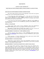 POMEM ALIMLARI DUYURU - Muş Emniyet Müdürlüğü
