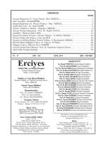 Erciyes Dergisi