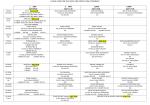 2014-2015 Final Programı Güz Yarıyılı