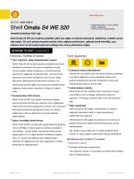 Page 1 Teknik Bilgi Formu Eski İsmi : Shell Tivela S Shell Omala S4