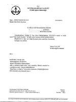 Müdürlüğümüzün konu ile ilgili 01/10/2014 tarih ve 4361514 sayılı