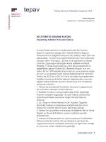 2013 Turkiye Ilerleme Raporu Kopenhag Kriterleri Yolunda