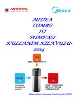 Midea Combo Isı Pompası Kullanım Kılavuzu