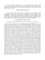 05 mart 2014 tarihli meclis karar özeti