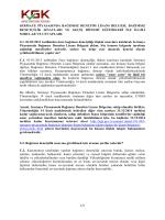 sermaye piyasasında bağımsız denetim lisans belgesi, bağımsız