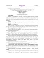 Türkiye Tarım Havzaları Üretim ve Destekleme Modeline