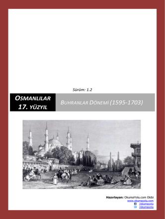 Buhranlar Dönemi (1595-1703)