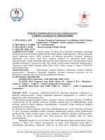 Müsabaka Reglamanı - TÜRKİYE Modern Pentatlon Federasyonu