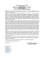 A Grubu İmtiyazlı Pay Sahipleri Özel Kurulu Toplantı Çağrısı