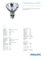 Product Leaflet: CDM-R, 70W, /942, E27, PAR30L, 10D