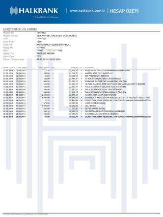 2014 mart - Milli Eğitim Bakanlığı