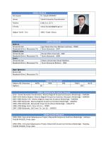 KİŞİSEL BİLGİLER Adı Soyadı Dr. Selçuk KARABAT Unvan Teknik