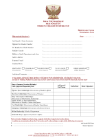 İlişik Kesme Formu - ipek üniversitesi öğrenci işleri