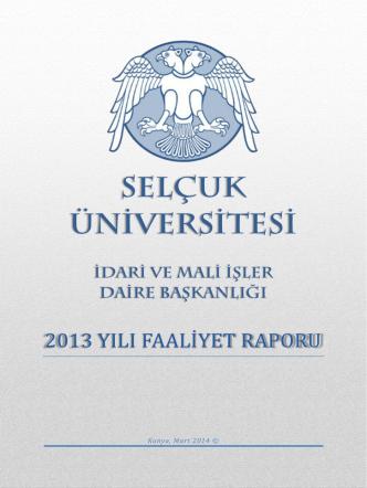 2014 - Selçuk Üniversitesi