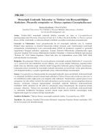 Phrynella ortegioides ve Thurya capitata