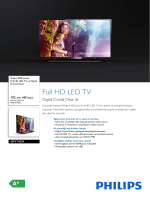 40PFT4009/12 Philips Full HD LED TV ve Digital Crystal Clear