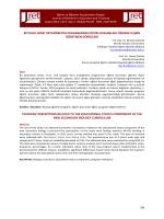 Abstract - Eğitim ve Öğretim Araştırmaları Dergisi