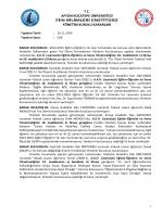 karar 2014/028 - Afyon Kocatepe Üniversitesi
