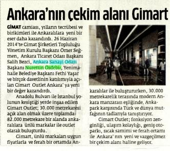 05.07.2014 - Ankara Sanayi Odası