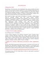1.Bologna Süreci Nedir? Bologna Süreci, 2010 yılına kadar Avrupa