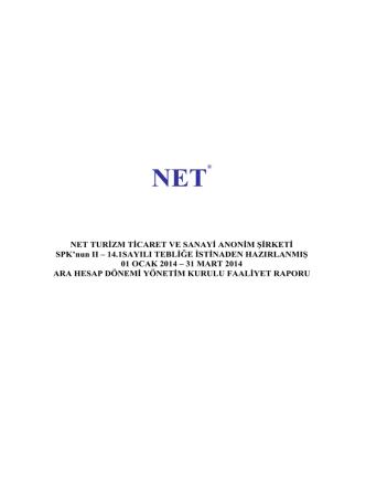 31/03/2014 yön.kur.faaliyet raporu