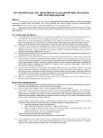 Yatay Geçiş Bilgilendirmesi - Sağlık Hizmetleri Meslek Yüksekokulu