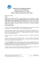 mersin büyükşehir belediyesi meski genel müdürlüğü 22 mart 2015