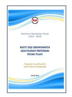 Kayıt Dışı Ekonomiyle Mücadele Stratejisi Eylem Planı 2015-2017
