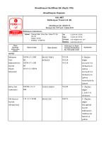 Akreditasyon Sertifikası Eki (Sayfa 1/35) Akreditasyon Kapsamı