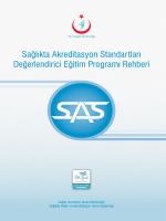 SAS Değerlendirici Eğitim Programı Rehberi