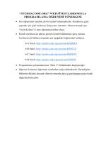 """""""studıo.code.org"""" web sitesi yardımıyla programlama öğrenimi"""