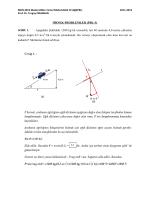 ÖRNEK PROBLEMLER (PBL-3) SORU 1. Aşağıdaki Şekildeki 1200
