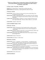 Uluslararası Akdeniz Yüzey Araştırmaları Çalıştayı 2015 ODTÜ