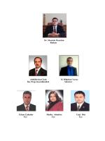 Dr. Mustafa Özarslan Başkan Abdülkerim Çiçek H. Bilgehan Yavuz