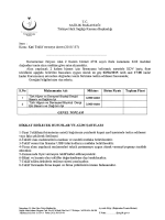 Konu: Kati Teklif vermeye davet (2015/157)