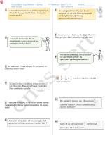 Matematik sınavı 1 - Kartanelerim.com