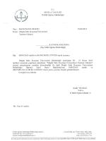 """21 Nisan 2015 tarihleri arasında yapılması planlanan """"Muğla Sıtkı"""